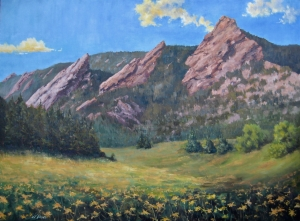 Flatirons and Flowers