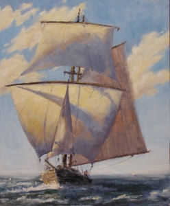 Running Under Full Sail
